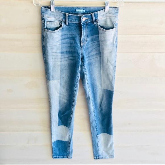 J. McLaughlin Denim - J. McLaughlin Patchwork Skinny Jeans